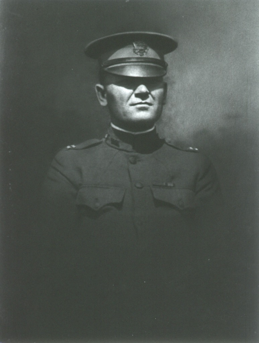 <p>Half length, full face; in uniform.</p>