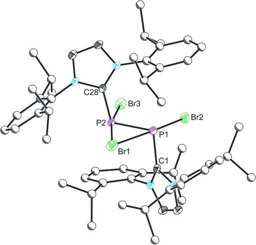 Single Crystal X Ray Structure Of The Cationic Componen