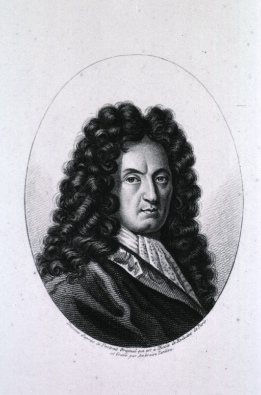 <p>Head and shoulders, right pose, face front; long curls.</p>