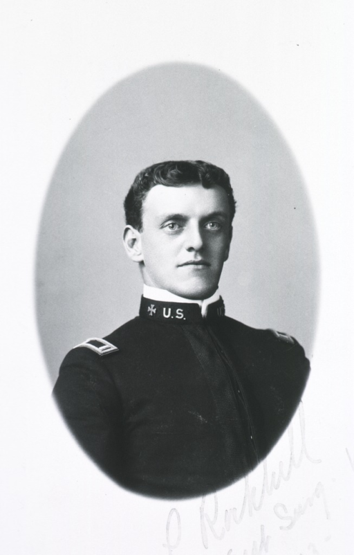 <p>Head and shoulders, right pose, face front; in uniform.</p>