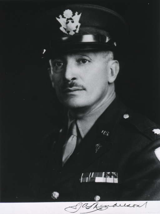 <p>Head and shoulders, full face, in uniform and cap, Lt.-Col.</p>
