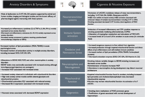 the role of tobacco smoking on the development of nicotine user disorder Development of symptoms of tobacco  or associative learning4 until a role for nicotine is  dar of significant events was created for each tobacco user.