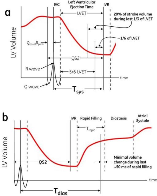 Left Ventricular Volume Graphs From Wiggers Diagram Dem Open I