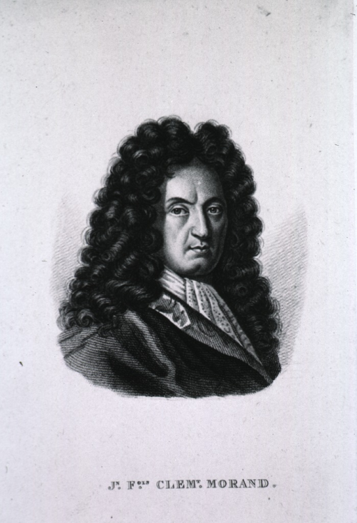<p>Head and shoulders, face front; long curls.</p>