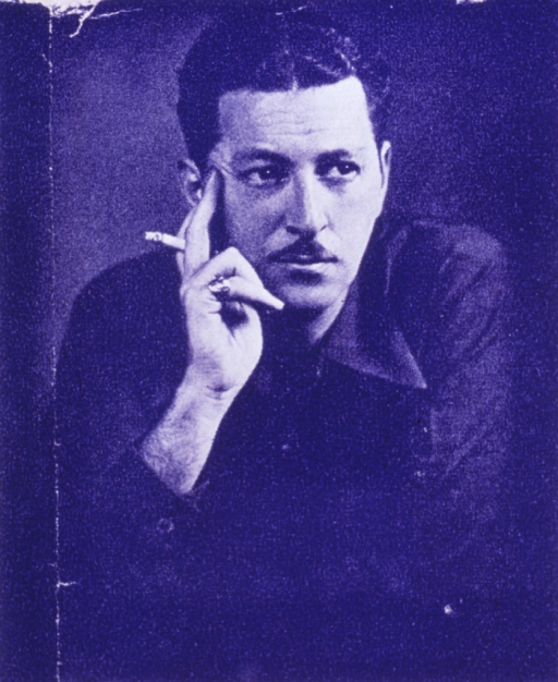 <p>Half-length, full face; hand to cheek, holding cigarette.</p>