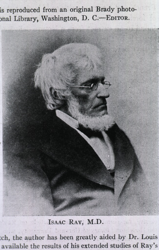 <p>Seated, half length, right pose, wearing glasses.</p>