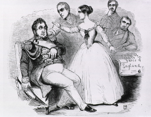 <p>&quot;Royal mesmerism, being a French version of Victoria's visit to France.&quot;</p>