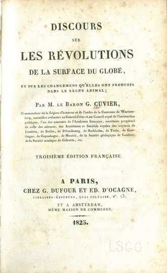 <p>Image of title page of Discours.</p>