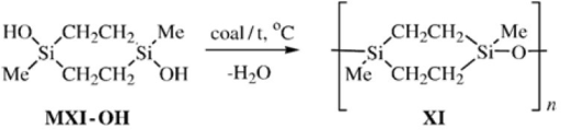 Synthesis of CL PMCS XI by homocondensation of compound MXI-OH.
