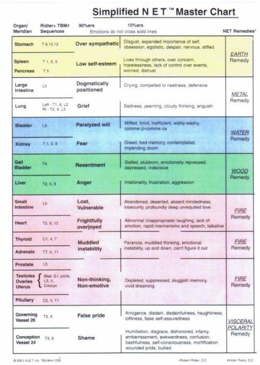 Deficit Simplified >> Simplified Master NET Chart outlining Meridians/Organs;   Open-i