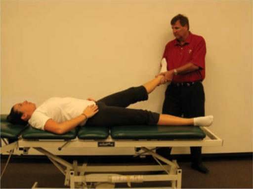 Hip Distraction Manual Therapy submited images.