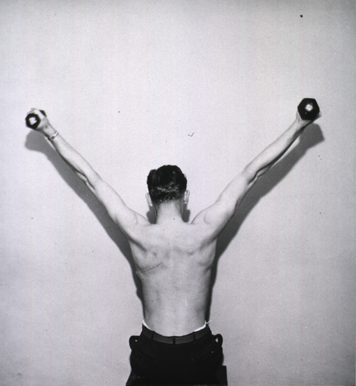 <p>Exercises, uses of dumb bells.</p>