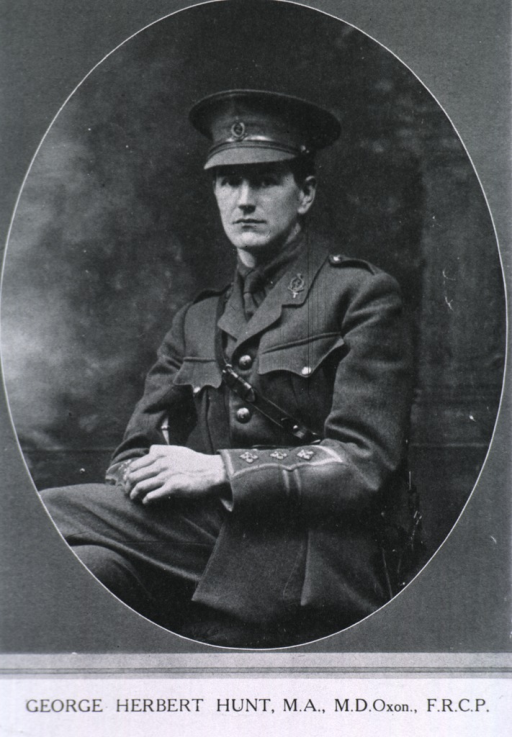 <p>Seated, three quarter length in uniform, with Sam Brown belt.</p>
