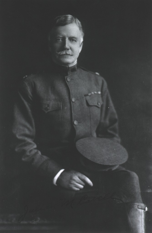 <p>Seated, wearing uniform (Lieut.-Colonel).</p>
