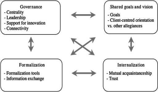 D'Amour Model of collaboration