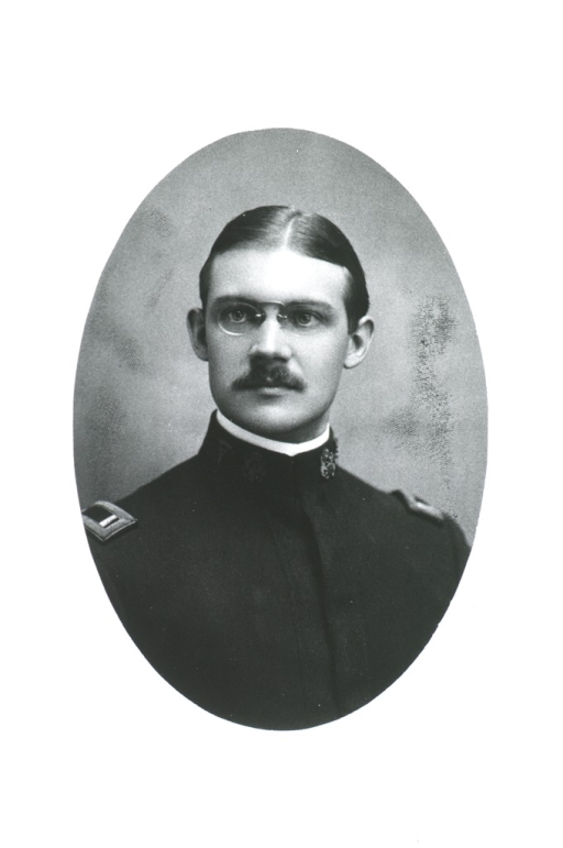 <p>Head and shoulders, full face; in oval.  Wearing uniform of First Lt. &amp; Assistant Surgeon, U.S.A.</p>