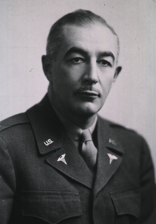 <p>Head and shoulders, full face, wearing uniform of U.S. Army Medical Corps.</p>