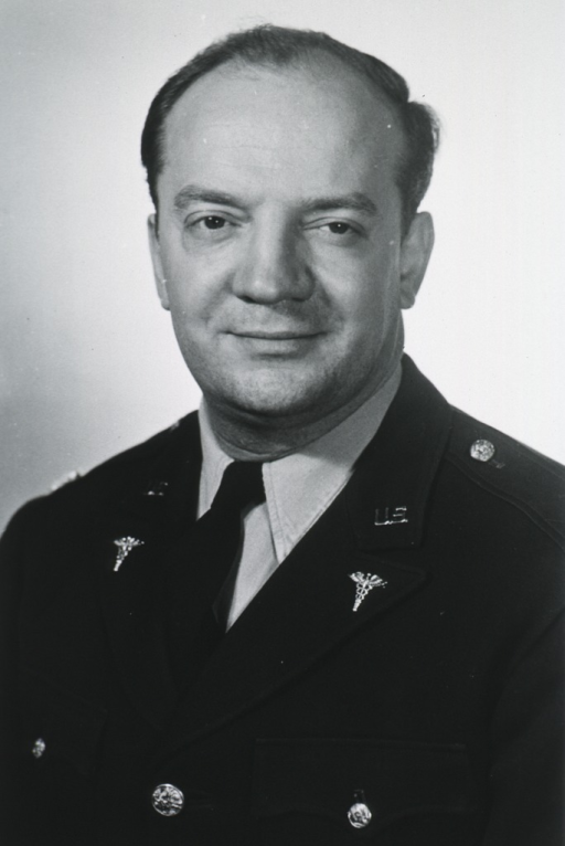<p>Head and shoulders, full face, Army uniform.</p>
