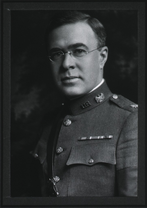 <p>Head and shoulders, left pose, in uniform, Lt.-Col., M.C.</p>