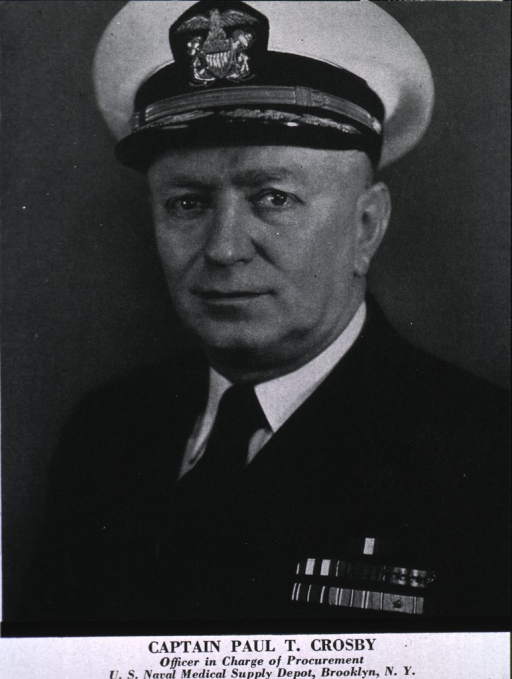 <p>Head and shoulders, full face, left pose, wearing uniform (Captain).</p>