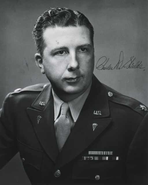 <p>Head and shoulders, full face, uniform, Major, Medical Corps.</p>