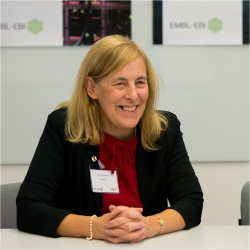 Janet Thornton.Senior scientist and outgoing director of EMBL-EBI.
