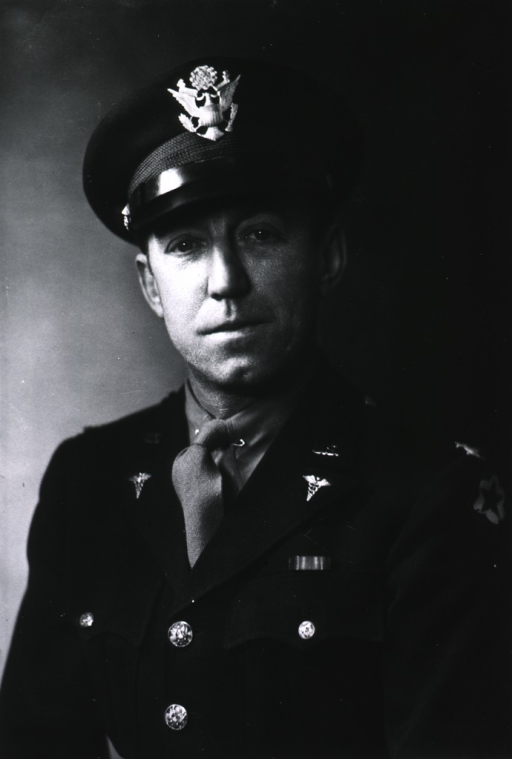 <p>Half-length, full face, wearing Army uniform and cap (Colonel).</p>