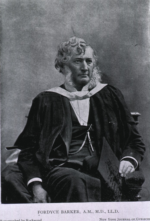 <p>Three-quarter length, seated, right pose, wearing academic gown, holding cap.</p>
