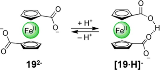 Control of Rotation in Ferrocene Complex 19 throughProtonation253