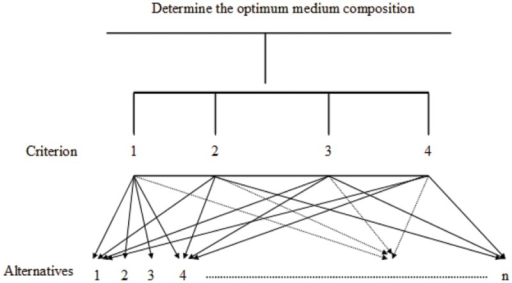 Optimization of medium composition for biosurfactant production using the analytical hierarchy process.