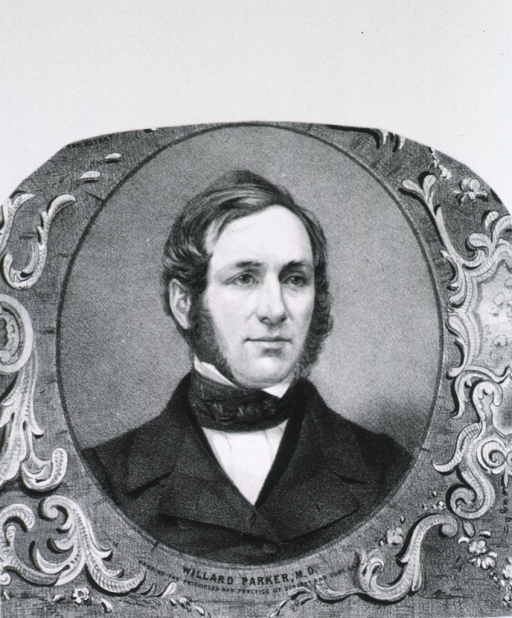 <p>Head and shoulders, full face, as a young man.</p>