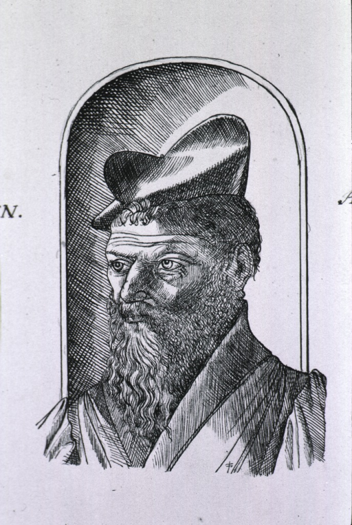 <p>Head and shoulders, left pose, wearing hat.</p>
