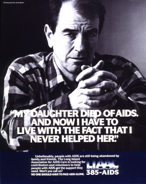 <p>Image is a photo reproduction featuring a middle-aged man.  Title superimposed on lower portion of photo.  Caption and publisher information at bottom of poster.</p>