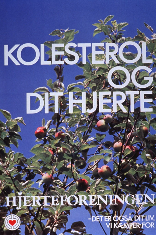<p>Multicolor poster with white lettering.  Entire poster is a reproduction of a color photo of an apple tree against a brilliant blue sky.  Title superimposed on upper portion of photo, publisher information and note near bottom.</p>