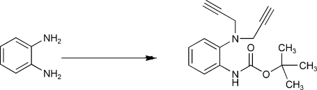 The formation of the title compound.