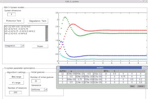 Software application. Snapshot of the graphical user interface provided as a free stand-alone application.