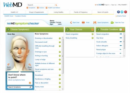 Symptom Checker  WebMD