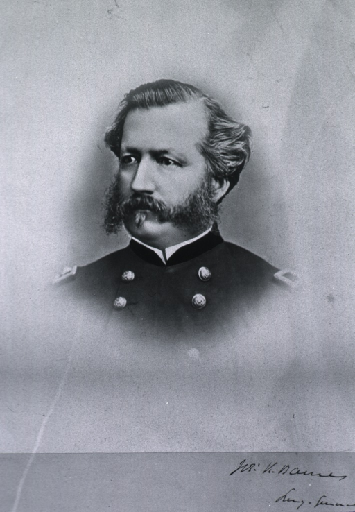 <p>Head and shoulders, full face, head to left, in uniform.</p>