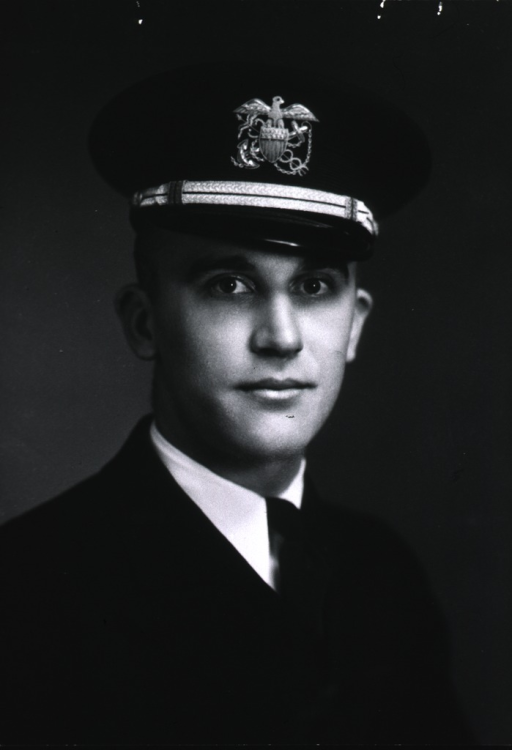 <p>Bust, full face, wearing cap with insignia of the USPHS.</p>