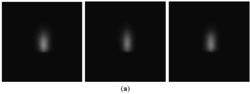 Plasma region of image of Al 5052 (a) acquired by CMOS camera and (b) after binarization.