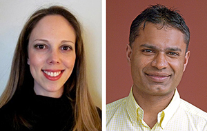 Insight from Yael Gus-Brautbar (left) and Dipak Panigrahy