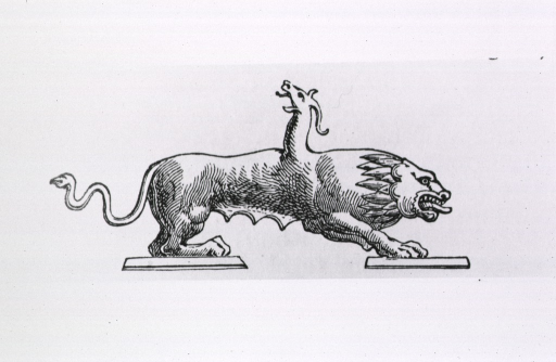 <p>Side view of a chimera.</p>