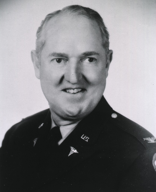 <p>Head and shoulders, full face, wearing U.S. Army uniform, SGO, with rank of Colonel.</p>