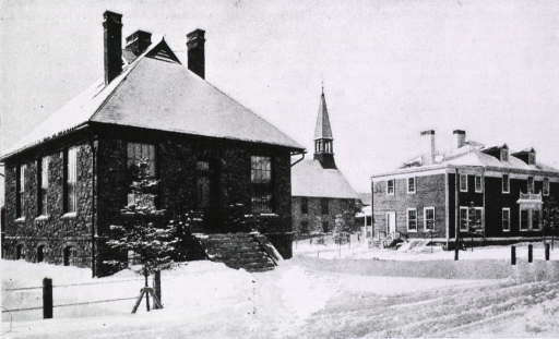 <p>Dr. Trudeau's laboratory and dwelling.</p>