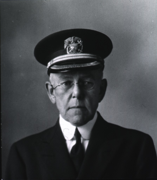 <p>Head and shoulders, full face, wearing glasses and USPHS uniform.</p>