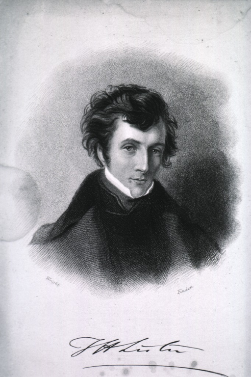 <p>Head and shoulders, full face; as a young man.</p>