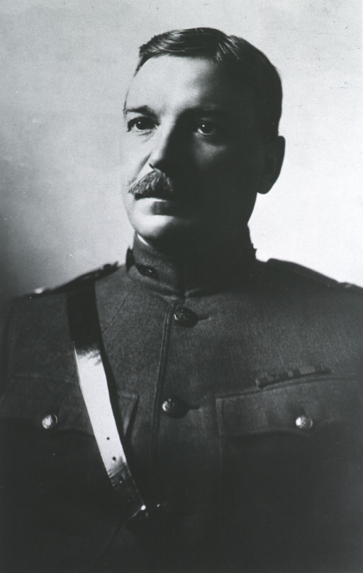 <p>Head and shoulders, in uniform of General, M.C.</p>