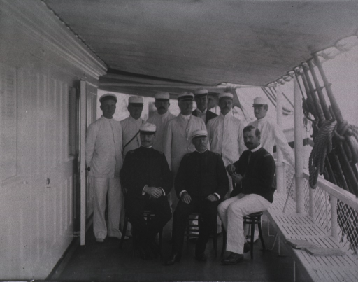 <p>Members of the hospital staff.</p>