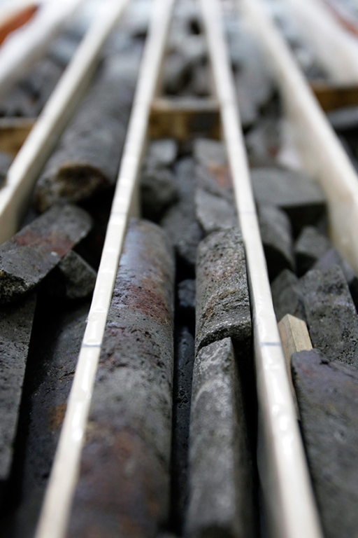 SMS core samples await geologic analysis in a Japanese laboratory. Deep-sea deposits can be rich sources of precious metals, rare earths, and other valuable minerals.© Kiyoshi Ota/Bloomberg via Getty Images