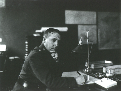 <p>Half-length, seated at desk, right pose; writing.</p>